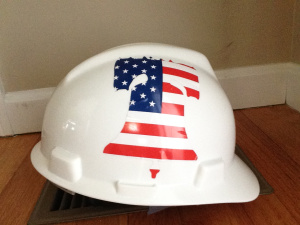 Richie Andrews United Bell Hard Hat